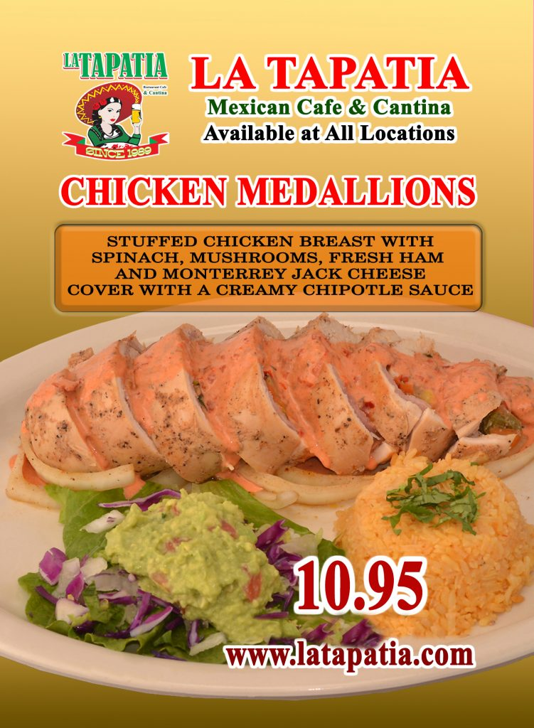 S-Chicken Medalion Promotion 10.95